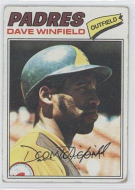 1977 Topps - [Base] #390 - Dave Winfield