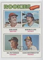 Don Aase, Gil Patterson, Dave Wehrmeister