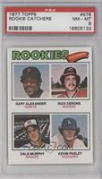 Rookies (Gary Alexander, Rick Cerone, Dale Murphy, Kevin Pasley) [PSA 8]