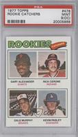 Rookies (Gary Alexander, Rick Cerone, Dale Murphy, Kevin Pasley) [PSA 9&nb…