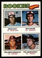 Doug Ault, Rich Dauer, Orlando Gonzalez, Phil Mankowski [EX]