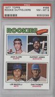 Jack Clark, Ruppert Jones, Dan Thomas, Lee Mazzilli [PSA 8]