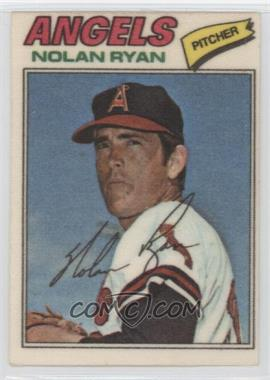 1977 Topps Baseball Patches Cloth Stickers #40 - Nolan Ryan
