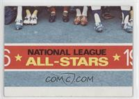 National League All-Stars Puzzle Checklist (Bottom Center) [Good to V…