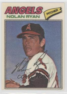 1977 Topps Baseball Patches #40 - Nolan Ryan