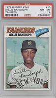 Willie Randolph [PSA8]