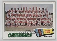 St. Louis Cardinals Team Checklist (Vern Rapp) [PoortoFair]