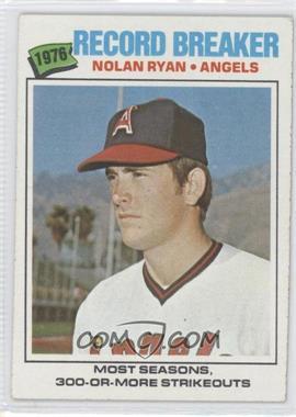 1977 Topps #234 - Nolan Ryan