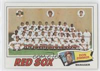Boston Red Sox Team Checklist (Don Zimmer)