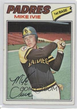 1977 Topps #325 - Mike Ivie