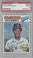 Willie Randolph [PSA9]