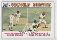 1976 World Series (Joe Morgan, Johnny Bench) [Good to VG‑EX]