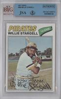 Willie Stargell [BVG/JSA Certified Auto]