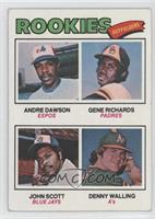 Andre Dawson, Gene Richards, John Scott, Denny Walling [Good to VG&#8…