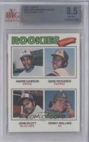 Rookie Outfielders (Andre Dawson, Gene Richards, John Scott, Denny Walling) [BV…