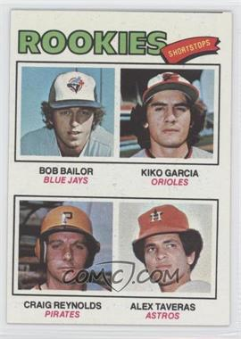 1977 Topps #474 - Kiko Garcia, Craig Reynolds, Alex Taveras, Bob Bailor