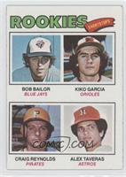 Kiko Garcia, Craig Reynolds, Alex Taveras, Bob Bailor