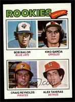 Kiko Garcia, Craig Reynolds, Alex Taveras, Bob Bailor [NM]