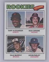 Rookies (Gary Alexander, Rick Cerone, Dale Murphy, Kevin Pasley) [NearMin…