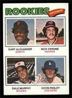 Rookies (Gary Alexander, Rick Cerone, Dale Murphy, Kevin Pasley) [EXMT]