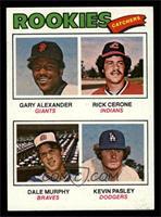 Rookies (Gary Alexander, Rick Cerone, Dale Murphy, Kevin Pasley) [NM]