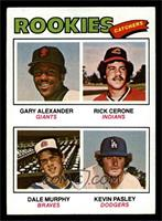 Rookies (Gary Alexander, Rick Cerone, Dale Murphy, Kevin Pasley) [VGEX]