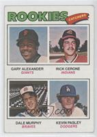 Rookies (Gary Alexander, Rick Cerone, Dale Murphy, Kevin Pasley) [Good to&…