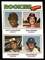 Rookies (Gary Alexander, Rick Cerone, Dale Murphy, Kevin Pasley) [EX]