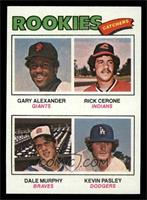 Rookies (Gary Alexander, Rick Cerone, Dale Murphy, Kevin Pasley) [NM]