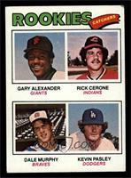 Rookies (Gary Alexander, Rick Cerone, Dale Murphy, Kevin Pasley) [VG]