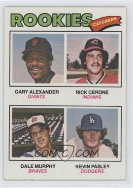 1977 Topps #476 - Rookies (Gary Alexander, Rick Cerone, Dale Murphy, Kevin Pasley)