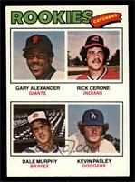 Rookies (Gary Alexander, Rick Cerone, Dale Murphy, Kevin Pasley) [EX MT]