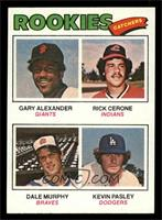 Rookies (Gary Alexander, Rick Cerone, Dale Murphy, Kevin Pasley) [NM MT]