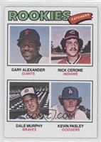 Rookies (Gary Alexander, Rick Cerone, Dale Murphy, Kevin Pasley)