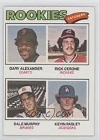 Rookies (Gary Alexander, Rick Cerone, Dale Murphy, Kevin Pasley)