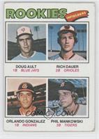 Doug Ault, Rich Dauer, Orlando Gonzalez, Phil Mankowski [GoodtoVG&#…