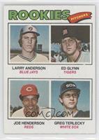Larry Anderson, Ed Glynn, Joe Henderson, Greg Terlecky