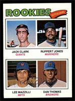 Jack Clark, Ruppert Jones, Dan Thomas, Lee Mazzilli [NM]