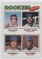 Jack Clark, Ruppert Jones, Dan Thomas