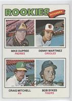 Mike Dupree, Dennis Martinez, Craig Mitchell, Bob Sykes