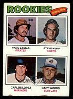 Tony Armas, Steve Kemp, Carlos Lopez, Gary Woods [GOOD]