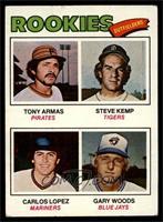 Tony Armas, Steve Kemp, Carlos Lopez, Gary Woods [VG]