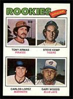 Tony Armas, Steve Kemp, Carlos Lopez, Gary Woods [NMMT]
