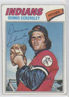 1977 Topps #525 - Dennis Eckersley [Good to VG‑EX]