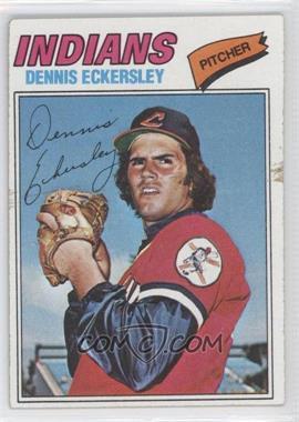 1977 Topps #525 - Dennis Eckersley [GoodtoVG‑EX]