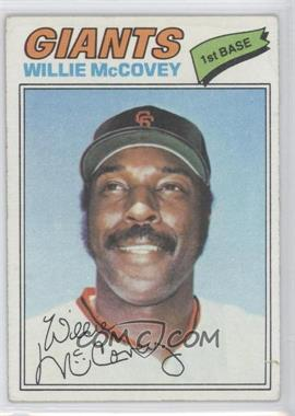 1977 Topps #547 - Willie McCovey [Good to VG‑EX]
