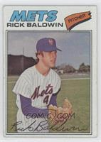 Rick Baldwin [Good to VG‑EX]