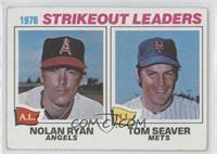 1976 Strikeout Leaders (Nolan Ryan, Tom Seaver) [GoodtoVG‑EX]