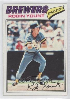 1977 Topps #635 - Robin Yount