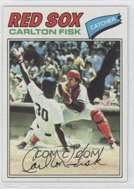 1977 Topps #640 - Carlton Fisk